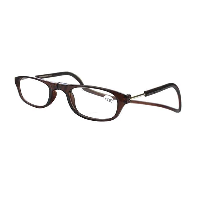 1487167630 GEMSeven Gafas de lectura colgantes de cuello magnético: Amazon.es: Ropa y  accesorios