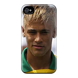 Scratch Resistant Cell-phone Hard Cover For Iphone 6 With Unique Design Nice The Priceless Player Of Barcelona Neymar Series LauraAdamicska