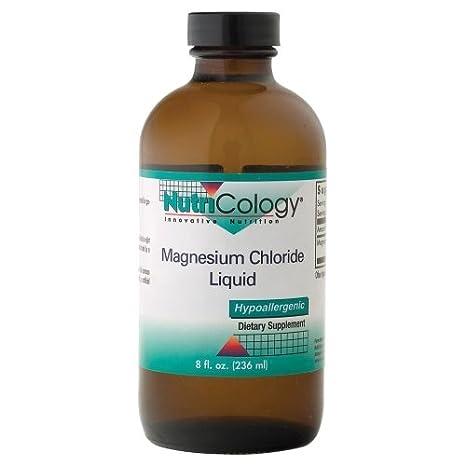 Cloruro de Magnesio Líquido, oz fl 8 (236 ml) - Nutricology: Amazon.es: Salud y cuidado personal