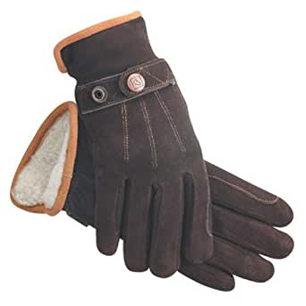 Amazon.com: SSG Deer Suede Riding Gloves: Sports & Outdoors