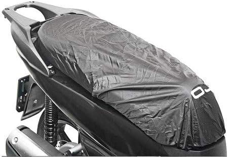 COPRISELLA M092 TAGLIA L IMPERMEABILE OJ COMPATIBILE CON HONDA SH 300 SCOOTER MOTO COPERTURA SELLA NERO