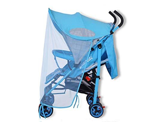 Baby UV-Schutz Sonnensegel Sonnenschutz Sonnenschirm mit Sonnenverdeck Insektenschutz Sonnendach für Buggys und Kinderwagen Babywagen