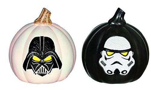 Star Wars Light Up Pumpkin Set