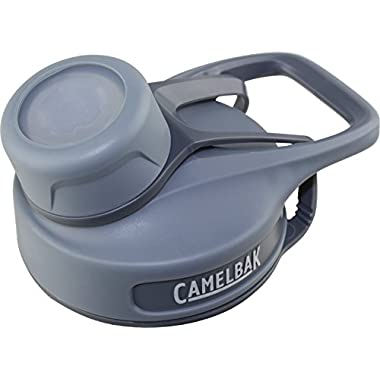 CamelBak Chute Water Bottle Cap Accessory, Grey/Grey