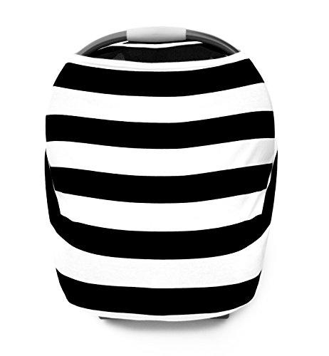 zebra car seat canopy cover - 4