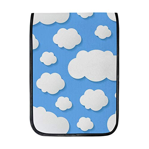 - 12 Inch Ipad IPad Pro Laptop Sleeve Canvas Notebook Tablet Pouch Cover for Homeschool, Travel, Etc Stripe Clouds Wall Decal