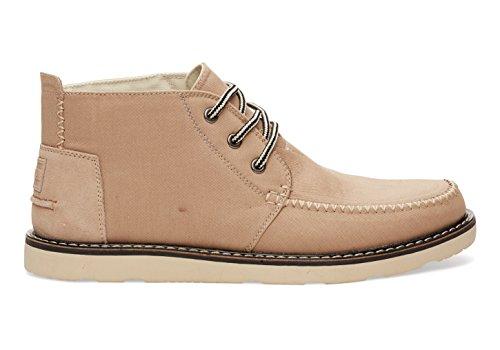Toms Chukka Boot Men's (8.0 D(M) US, Sesame Cotton Twill)