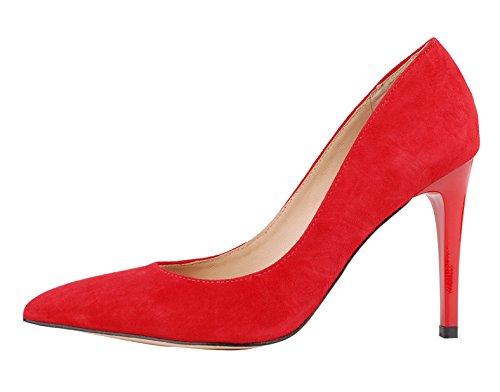 Niuerte Rosso Rosso Donna Fondo Moglie r4q81r
