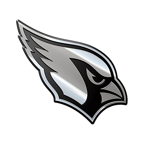 Arizona Cardinals Car (NFL Arizona Cardinals Premium Metal Auto Emblem)