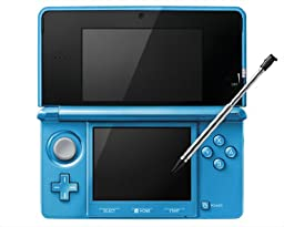 Nintendo 3DS Console-light blue (Japanese Imported Version - only plays Japanese version games)