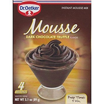 Dr Oetker Mousse Dark Chocolate Truffle 31 OZ Pack of 3