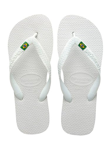 Havaianas Sandalias Brasil, Color Blanco Talla: UK 08/09