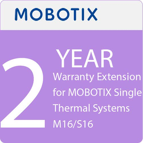 Single M16 (Mobotix 2 Years Warranty Extension for Single Thermal Systems M16/S16)