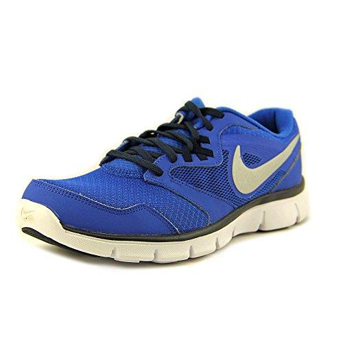 Nike Men's Flex Experience Rn 3 Hypr Cblt/Mtllc Slvr/Obsdn/VLT Running Shoe 9.5 Men US