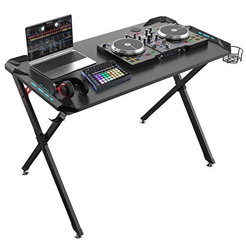 (Eureka Ergonomic X1-S Gaming Computer Desk 44.5