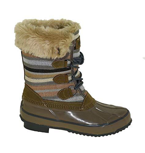 Khombu Women's Solis Winter Boot Fossil, 8M