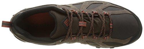 Columbia Peakfreak Xcrsn Ii Leather Outdry, Zapatos de Low Rise Senderismo para Hombre Marrón (Cordovan/ Sanguine)