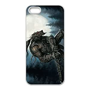Werewolf iPhone 5 5s Cell Phone Case White Phone cover G2701847