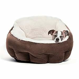"Best Friends by Sheri OrthoComfort Deep Dish Cuddler, Ilan, Dark Chocolate (20x20x12"") - Premium"