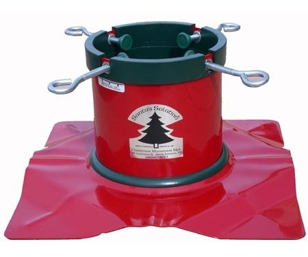 Santa's Solution Solid-Steel Christmas Tree Stand for 8 feet Trees