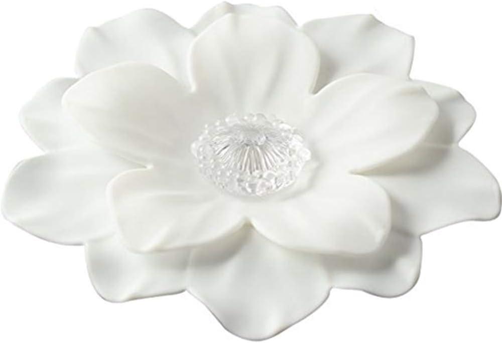 TINTON LIFE Vivid Double-Layer Flower Shape Food Grade Silicone Mug Cup Lid Cover(Sakura)