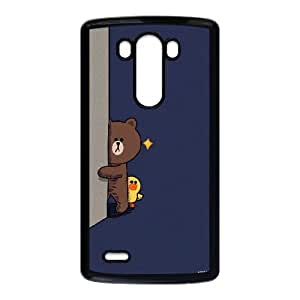Printed Phone Case BROWN BEAR For LG G3 S1T3981