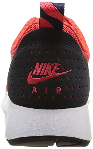 Nike Air Max Tavas Essential, Men's Low-Top Sneakers Rot (Rio/Bright Crimson-dark Obsidian)