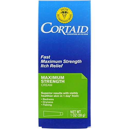 Cortaid Maximum Strength Relief Anti-Itch Cream, 1 Ounce