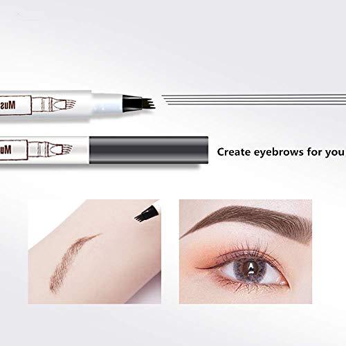 Eyebrow Pen,Microblading Eyebrow Pen Microblade Eyebrow Pencil Tat Brow Micro Ink Brow Pen Eyebrow Tattoo Pen Waterproof…