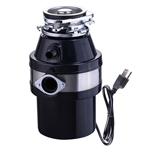 1L 1 HP Compact Garbage Disposal Kitchen Food Waste Disposer by LASHOP