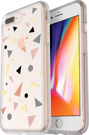 detailed look 80bfc 19f07 Otterbox Symmetry Clear iPhone 8 Plus Confetti POP