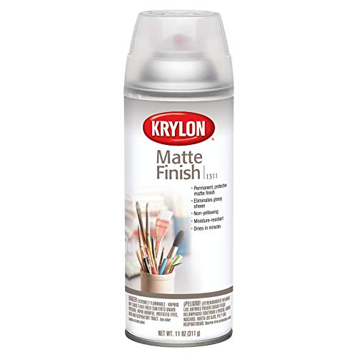KRYLON Diversified Brands K01311007 Matte Finish Aerosol Paint 11 oz, Satin ()