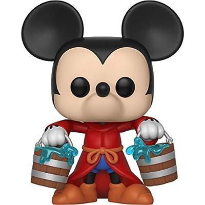 Funko Apprentice Mickey: Mickey's 90th Anniversary x POP! Disney Vinyl Figure & 1 POP! Compatible PET Plastic Graphical Protector Bundle [#426 / 32184 - B]: Toys & Games