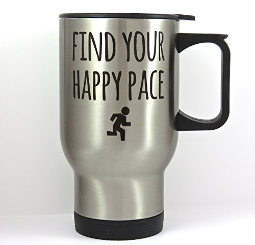 Mug for Runner, Stainless Steel Travel Mug (Stainless Runner)