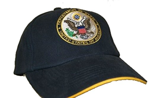 US U.S. Dept Department of State Embroidered Baseball Cap Hat