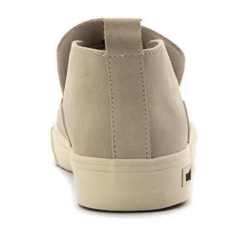 Seavees Mens 12/64 Huntington Mid Top Slip On Sneakers Oyster