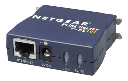 NETGEAR PS101 Mini Print Server by NETGEAR