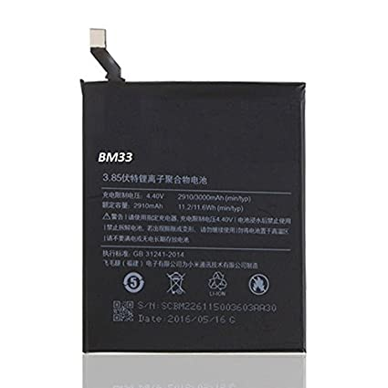 Generic BM33 3120mAh Battery for MI-4I(Black)