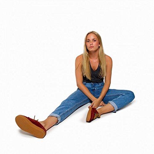 Pompeii, Zapatillas Mujer, Higby, Maroon Caramel, 36: Amazon.es: Zapatos y complementos