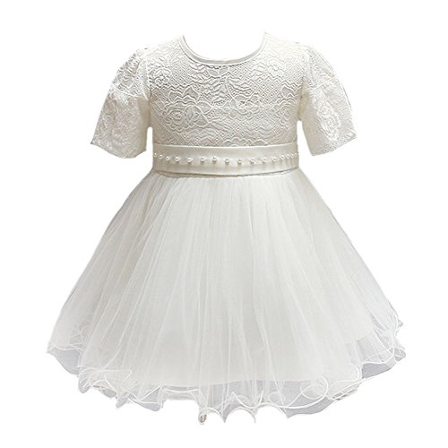 Price comparison product image Dream Rover Baby Girl Flower Princess Wedding Party Dress Gown Robe Dress