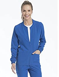 Air by Med Couture Women's Air Touch Zip Front Warm Up Jacket