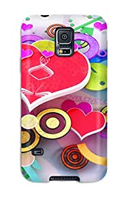Anne C. Flores's Shop 8948958K85459873 Series Skin Case Cover For Galaxy S5(love 3d Design Widescreen)