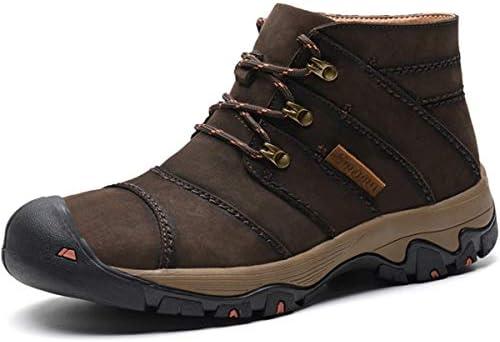 登山靴 クライミングシューズ ハイキングシューズ メンズ レザーシューズ 牛革 トレッキングシューズ キャンプ 遠足 アウトドア 旅行 防滑 衝撃吸収 四季