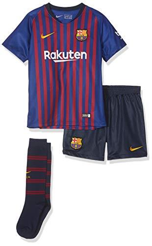 NIKE 2018-2019 Barcelona Home Little Boys Mini Kit ()