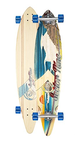 Sector 9 Madeira Complete Longboard Skateboard Cruiser (Blue Wheels w/ Bone's Reds Bearings)