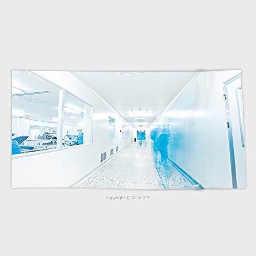 Philip C  Williams Cotton Microfiber Bathroom Towels Ultra Soft Hotel Spa Beach Pool Bath Towel Clean Room In Pharmaceutical Factory