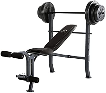 Marcy Standard Bench w/ 100 lb Weight Set