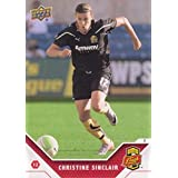2011 Upper Deck MLS Soccer #192 Christine Sinclair Western New York Flash WPS Super Draft Official Major League Soccer Trading Card From UD