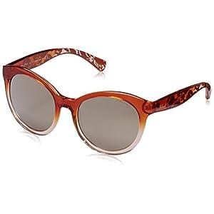 Polo Ralph Lauren Women's 0RA5211 Cateye Sunglasses, Amber Gradient, 53 mm