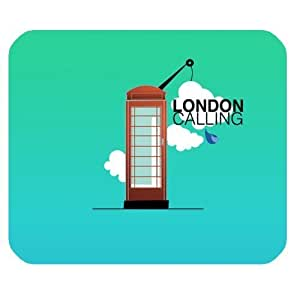 Generic Personalized Cartoon Illustration London Tower Cane for Rectangle Mouse Pad